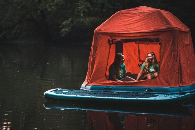 Drijvende tent