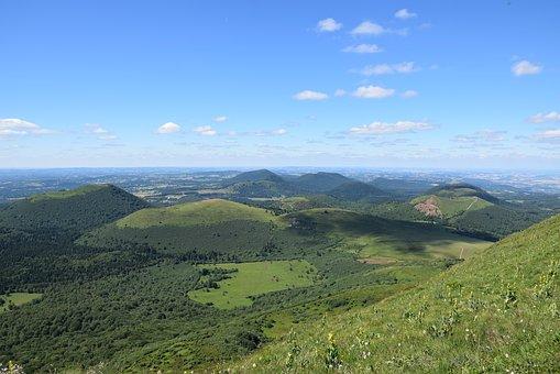 Kamperen in de Auvergne Frankrijk