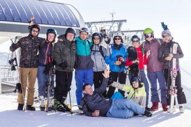 Wintersport voor singles en alleengaanden