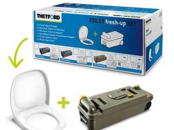 Thetford Fresh-Up Set C2-C3-C4 Met Wielen Links
