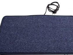 Heatek Verwarmd vloerkleed 90x40 blauw