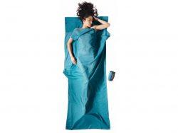 Cocoon Travelsheet Insectshield Egyptisch Katoen Lakenzak - Blauw
