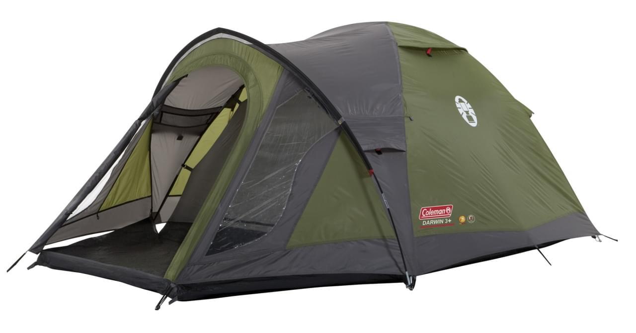 Coleman Darwin 3 Plus / 3 Persoons Tent - Groen