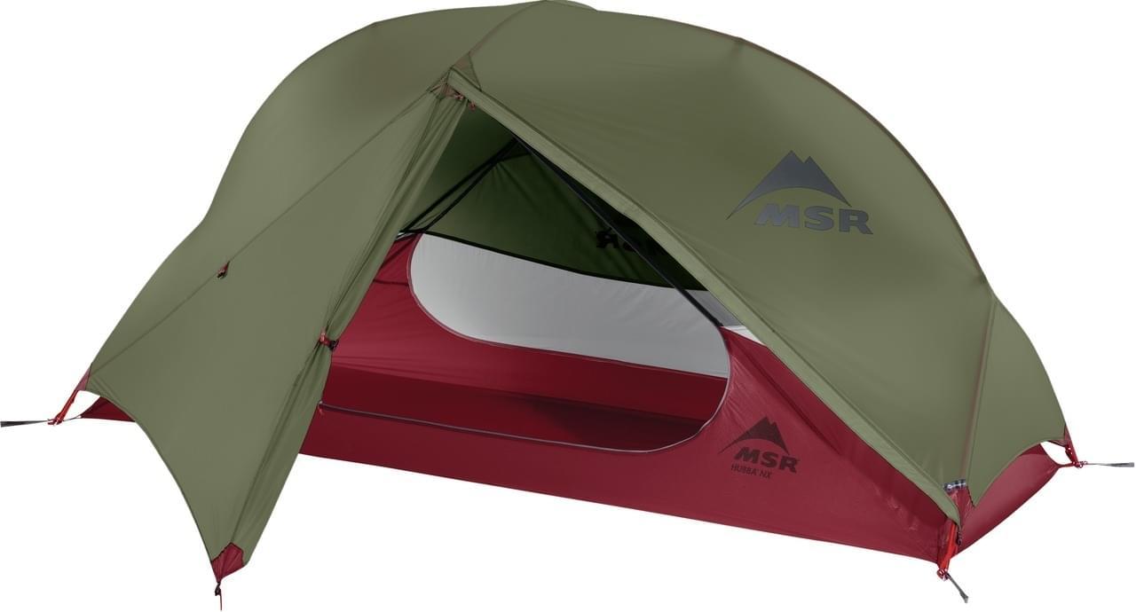 MSR Hubba NX / 1 Persoons Tent - Groen