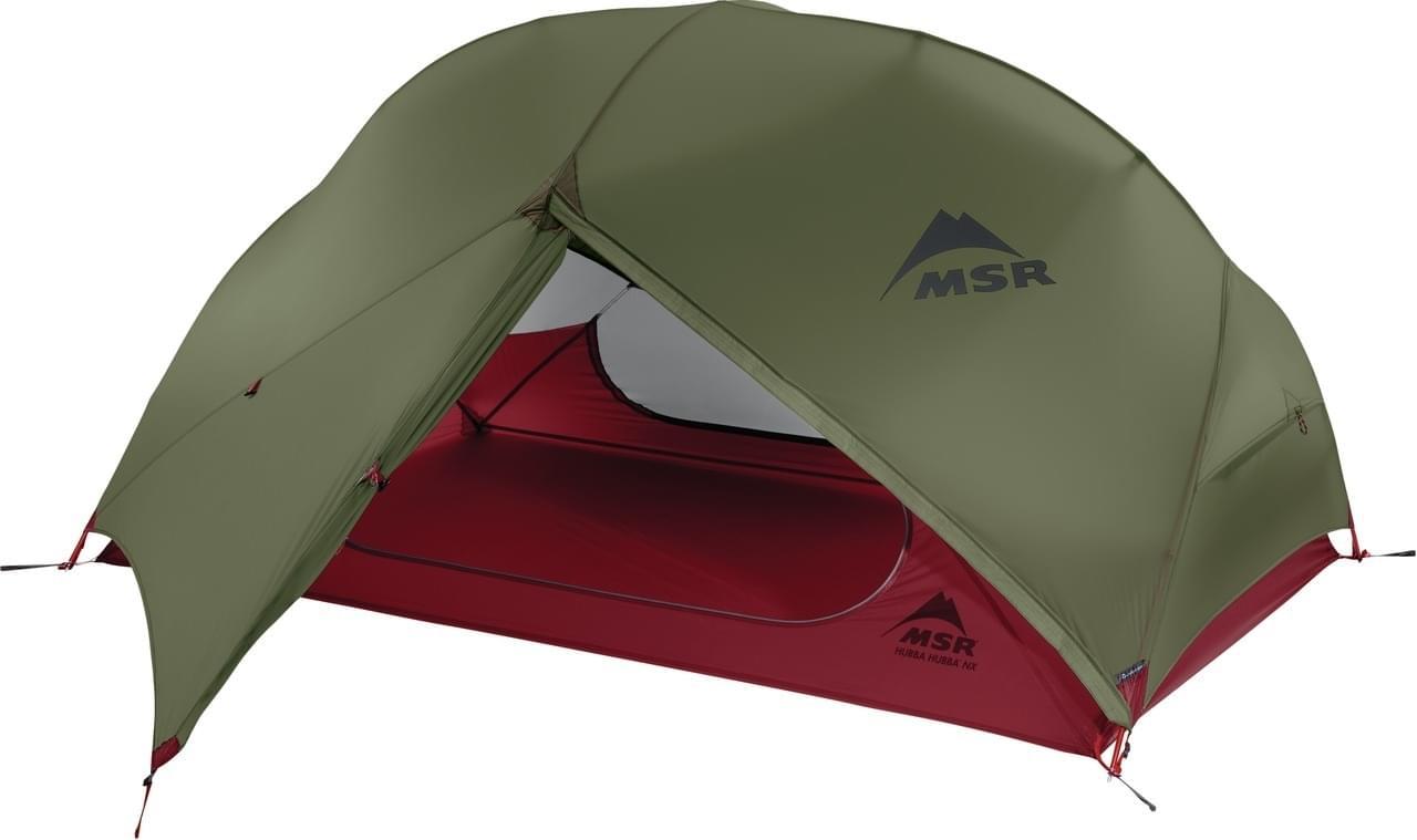 MSR Hubba Hubba NX / 2 Persoons Tent - Groen