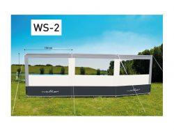 Walker Windscherm Alu 3-delig